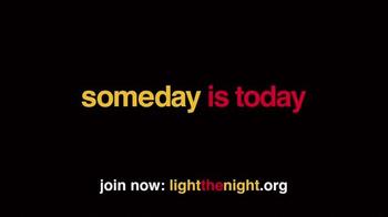 The Leukemia & Lymphoma Society 2014 Light the Night TV Spot, 'Let's Walk' - Thumbnail 10