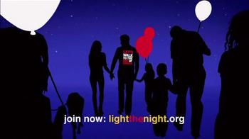 The Leukemia & Lymphoma Society 2014 Light the Night TV Spot, 'Let's Walk' - Thumbnail 6