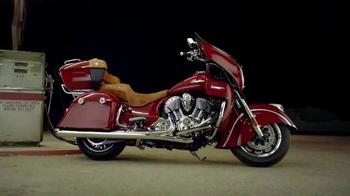 2015 Indian Roadmaster Motorcycle TV Spot - Thumbnail 8
