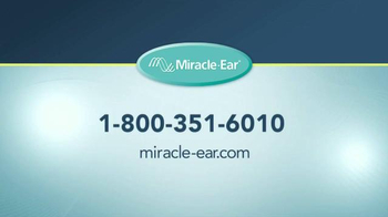 Miracle Ear TV Spot, 'I Think It's Time We Had a Little Conversation' - Thumbnail 10