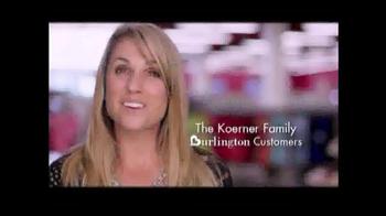 Burlington Coat Factory TV Spot, 'Back to School: The Koerner Family' - Thumbnail 1