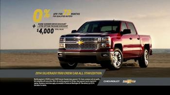 2014 Chevrolet Silverado 1500 TV Spot, 'Summer Drive' Song by Kid Rock - Thumbnail 6