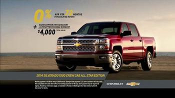 2014 Chevrolet Silverado 1500 TV Spot, 'Summer Drive' Song by Kid Rock - Thumbnail 7