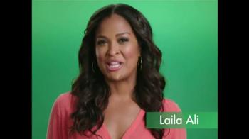 Activia TV Spot, 'Smiling Tummy' Featuring Laila Ali - Thumbnail 2