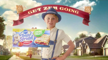 Pillsbury Toaster Strudel TV Spot, 'Rise and Shine' - Thumbnail 6