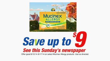 Mucinex Allergy TV Spot, 'Leaf Blower' - Thumbnail 10