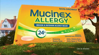 Mucinex Allergy TV Spot, 'Leaf Blower' - Thumbnail 6
