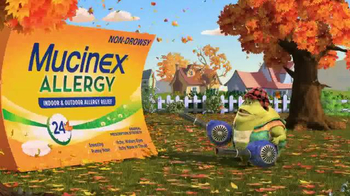 Mucinex Allergy TV Spot, 'Leaf Blower' - Thumbnail 7