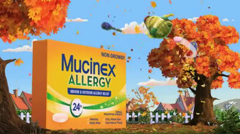 Mucinex Allergy TV Spot, 'Leaf Blower' - Thumbnail 8