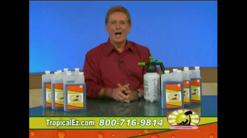 Tropical Ease TV Commercial, 'Spray & Rinse'
