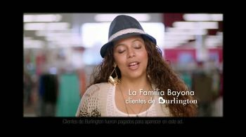 Burlington Coat Factory TV Spot, 'Familia Bayona' [Spanish] - Thumbnail 1