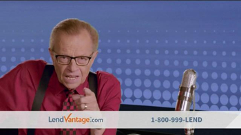 LendVantage TV Spot, 'Connecting You' Featuring Larry King - 567 commercial airings