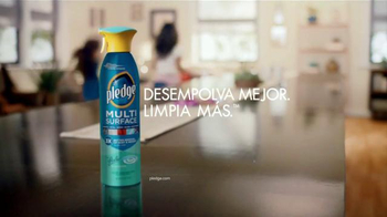 Pledge Multi Surface TV Spot, 'Plumero' [Spanish] - Thumbnail 9