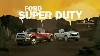 2015 Ford Super Duty TV Spot, 'Main Ingredient' - 411 commercial airings