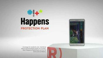 Radio Shack Protection Plan TV Spot, 'Free Screen Protector & Installation'