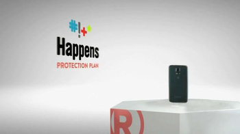 Radio Shack Protection Plan TV Spot, 'Free Screen Protector & Installation' - Thumbnail 2