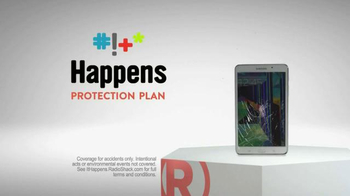 Radio Shack Protection Plan TV Spot, 'Free Screen Protector & Installation' - 1505 commercial airings