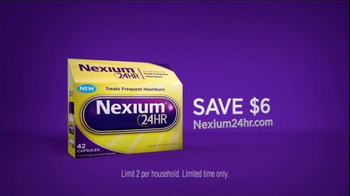 Nexium 24 Hour TV Spot, 'No More Worries' - Thumbnail 6