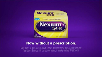 Nexium 24 Hour TV Spot, 'No More Worries' - Thumbnail 1