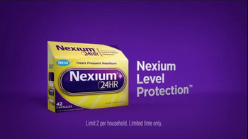 Nexium 24 Hour TV Spot, 'No More Worries' - Thumbnail 5