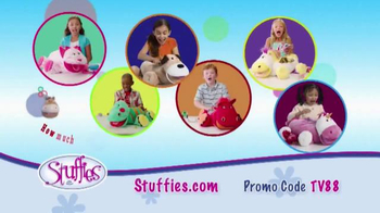 Stuffies TV Spot, 'How Much Stuff Can you Stuff in your Stuffie?'