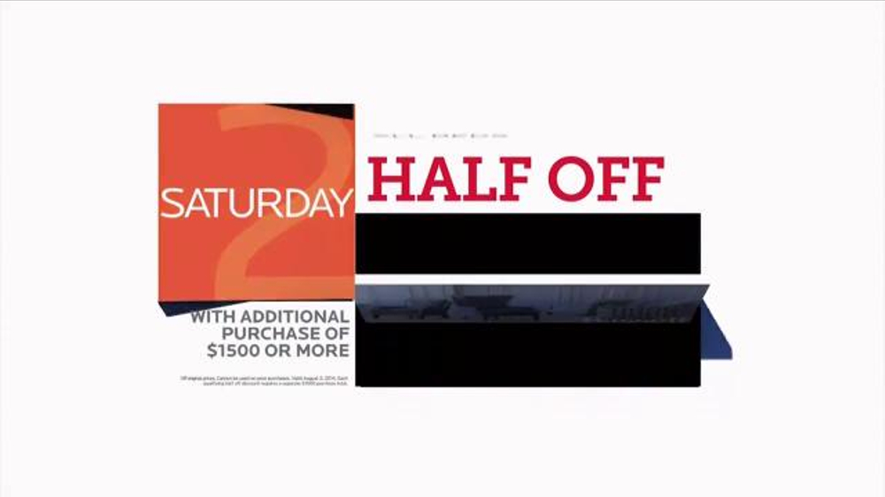 Bassett Half Off Weekend Spot Ispot