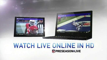 NFL Network TV Spot, 'Preseason Live'