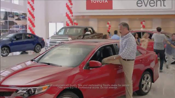Toyota's Annual Clearance Event TV Spot, 'Music Controller' - 153 commercial airings