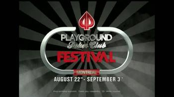 2014 Playground Poker Club Festival TV Spot - Thumbnail 9