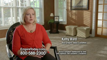 Empire Today Buy 1 Get 1 Free Sale TV Spot, 'Kathy Ward'