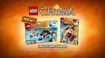 LEGO Chima TV Spot, 'Sir Fangar's Saber-Tooth Walker vs. Laval's Fire Lion' - Thumbnail 6
