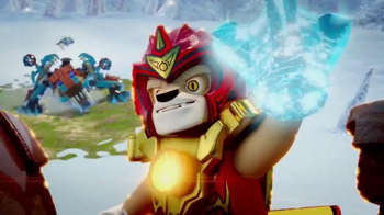 LEGO Chima TV Spot, 'Sir Fangar's Saber-Tooth Walker vs. Laval's Fire Lion'