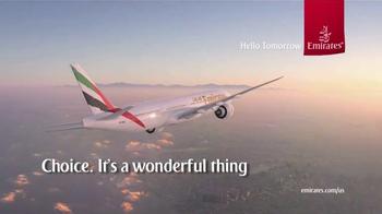 Emirates TV Spot, 'Get Carried Away' - Thumbnail 10