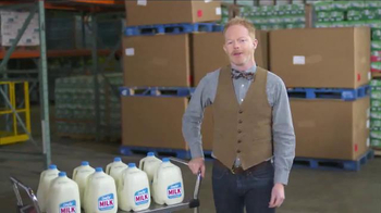 The Great American Milk Drive TV Spot Featuring Jesse Tyler Ferguson - 18 commercial airings