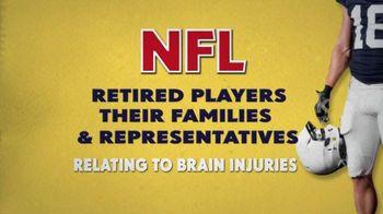 NFL Concussion Settlement TV Spot, 'Brain Injury Compensation'