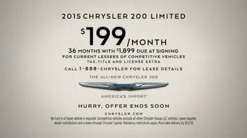 2015 Chrysler 200 Limited TV Spot, 'We are Born Makers' - Thumbnail 6