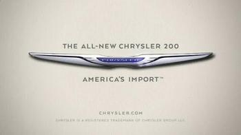 2015 Chrysler 200 Limited TV Spot, 'We are Born Makers' - Thumbnail 5