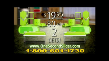 One Second Slicer TV Spot - Thumbnail 9