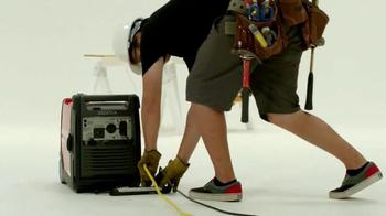 Honda Generators TV Spot, 'A Lot of Plugs' - Thumbnail 4