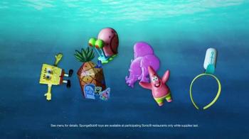 Sonic Drive-In Kids' Meals TV Spot, 'SpongeBob Toys' - Thumbnail 6