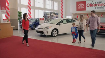 2014 Toyota Prius Annual Clearance Event TV Spot, 'Superpowers' - Thumbnail 1