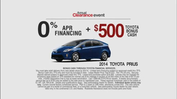2014 Toyota Prius Annual Clearance Event TV Spot, 'Superpowers' - Thumbnail 6
