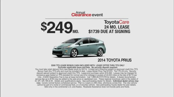 2014 Toyota Prius Annual Clearance Event TV Spot, 'Superpowers' - Thumbnail 8