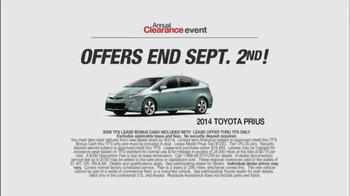 2014 Toyota Prius Annual Clearance Event TV Spot, 'Superpowers' - Thumbnail 9