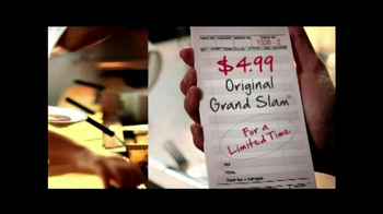 Denny's Original Grand Slam for $4.99 TV Spot - Thumbnail 2