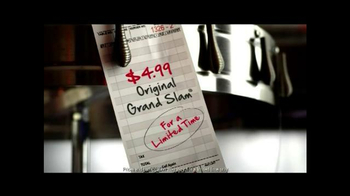 Denny's Original Grand Slam for $4.99 TV Spot - Thumbnail 7