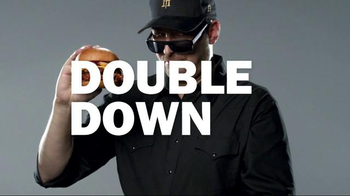 Carl's Jr. Texas BBQ Thickburger TV Spot, 'Double Down' ft. Phil Hellmuth - Thumbnail 3