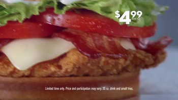 Jack in the Box Spicy Chicken Club Combo TV Spot, 'Expensive Popcorn' - Thumbnail 5