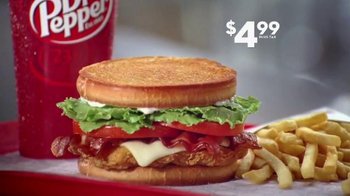 Jack in the Box Spicy Chicken Club Combo TV Spot, 'Expensive Popcorn' - Thumbnail 7