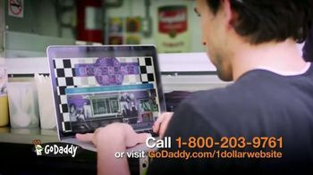 GoDaddy Website Builder TV Spot, '$1 Per Month' - 48 commercial airings